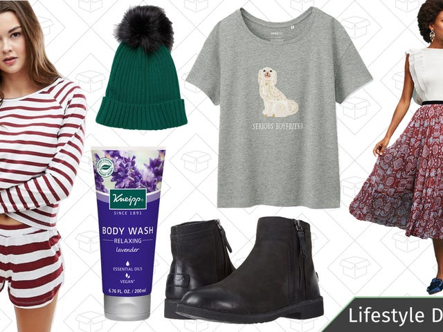 Wednesday's Best Lifestyle Deals: UGG Boots, Dog DNA Test, ASOS, Uniqlo, and More