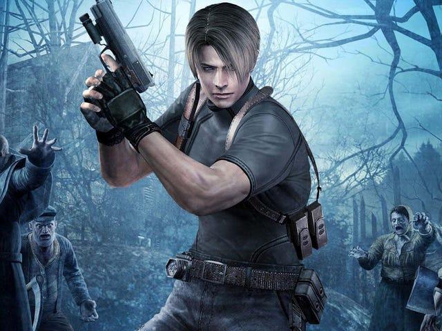 Eu não posso parar de comprar <i>Resident Evil 4</i>