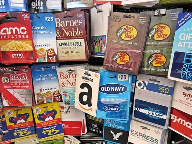 Proteggiti contro le carte regalo perdute con una piccola preparazione