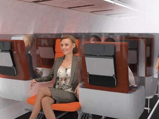 Esta compañía italiana cree que sabe cómo serán las cabinas de aviones post pandemia