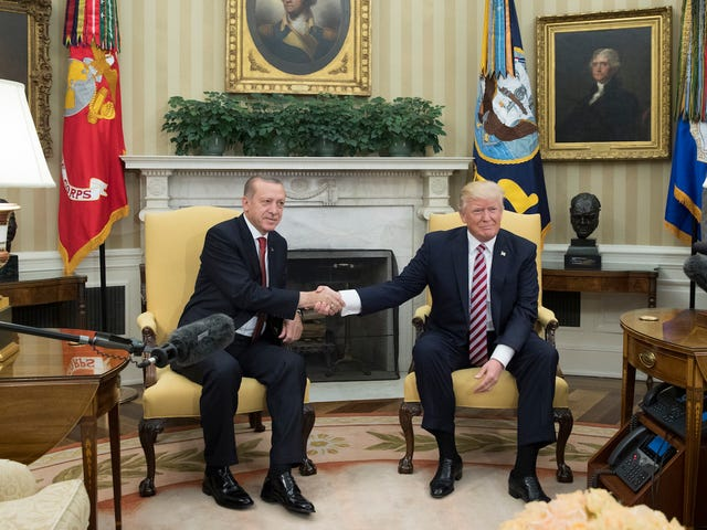 Turkish Dictator's Suited Thugs Beat Up Protesters on Embassy Row