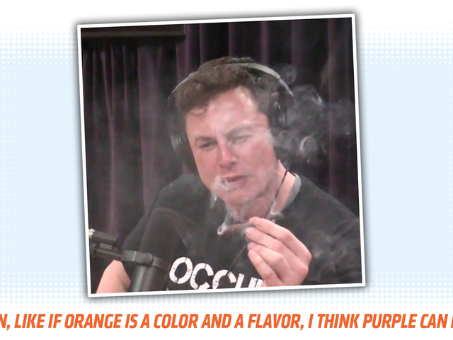 It's Time For The Elon Musk Smoking Weed Caption Contest