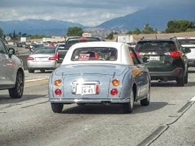 Nissan Figaro sighting in SoCal