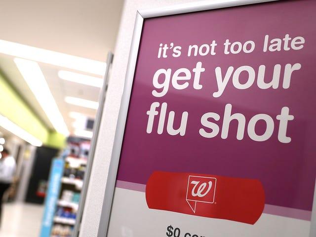 Το εμβόλιο γρίπης του τρέχοντος έτους είναι πραγματικά αρκετά αποτελεσματικό-και δεν είναι αργά για να το πάρει