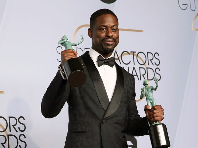SAG Awards 2019: Sterling K. Brown Double-Fists Statuettes as This Is Us and Black Panther Take Home Ensemble Wins
