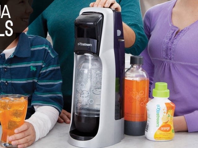 Take Home a SodaStream for $35 for the First Time Ever