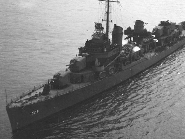 Abschnitt des US-Kriegsschiffes aus dem Zweiten Weltkrieg vor der Küste von Alaska entdeckt