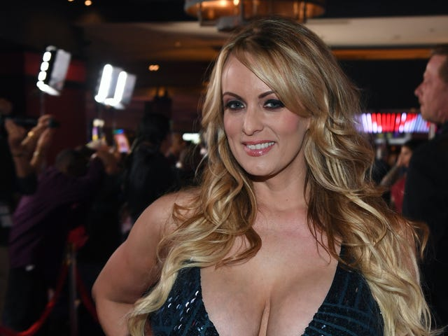 Stormy Daniels Arrested for Doing Stripper Things as a Stripper Inside a Strip Club
