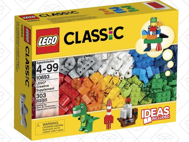 This $16 Box Reminds You That LEGOs Used To Be More Than Movie Tie-Ins