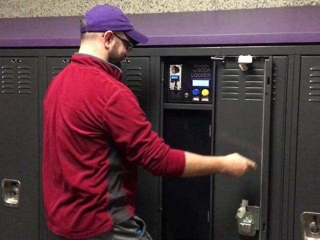 Build a Personal Soda Vending Machine That Fits Inside a Locker