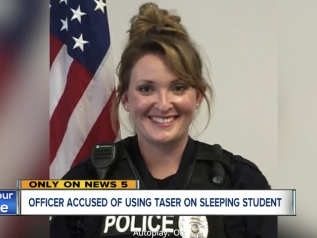 An Ohio School Resource Officer Really Thought It Was a Good Idea to Activate a Taser to Wake a Sleeping Student