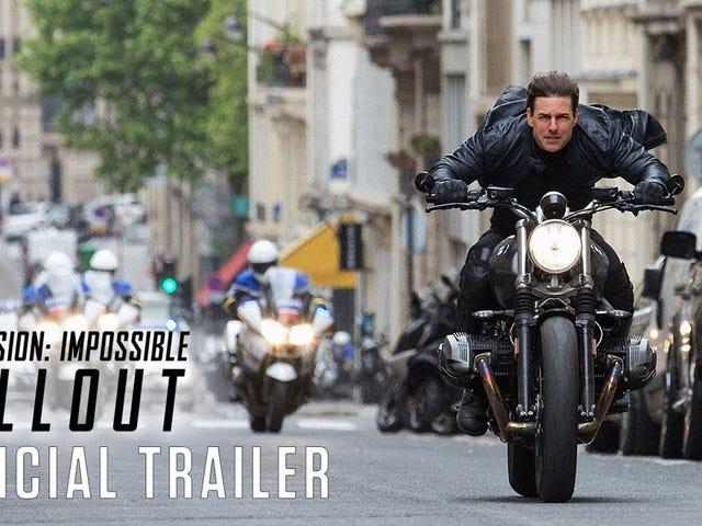 Ne yazık ki, <i>Mission: Impossible – Fallout</i> Yazın En İyi Filmi