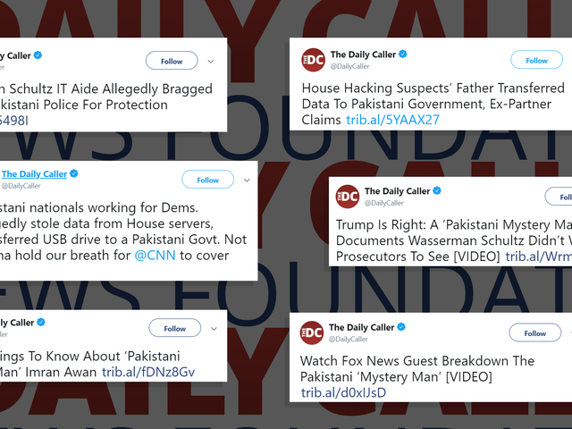 Feds Debunk IT Staffer Conspiracy Theory Pushed by The Daily Caller and Trump