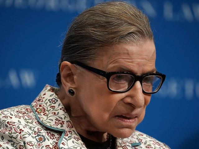 Ruth Bader Ginsburg Is Healing