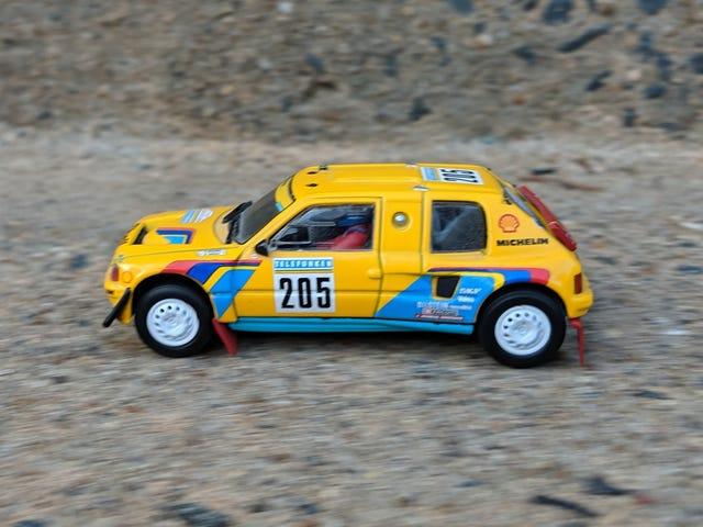 "LaLD Car Week 2019 - Day 4, 1980s: 1987 Peugeot 205 Turbo 16 ""Grand Raid"""