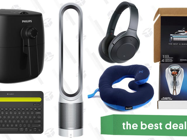 Sunday's Best Deals: Philips Airfryer, Noise-Cancelling Headphones, Gillette Razors, and More
