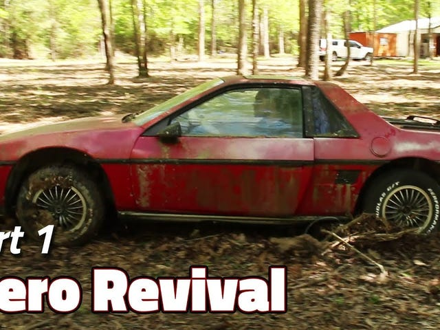 A Nice Man Is Restoring a 2m4 Fiero.
