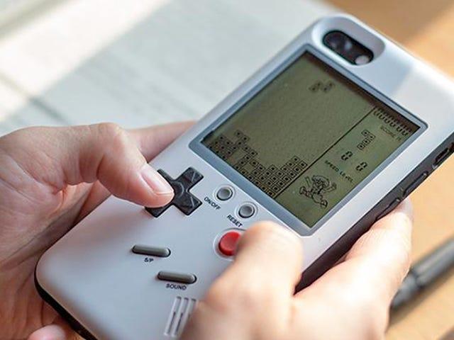 यह सस्ता, बजाने वाला स्मार्टफ़ोन केस गेम बॉय के लिए मेरे अनन्त प्रेम को ट्रिगर कर रहा है