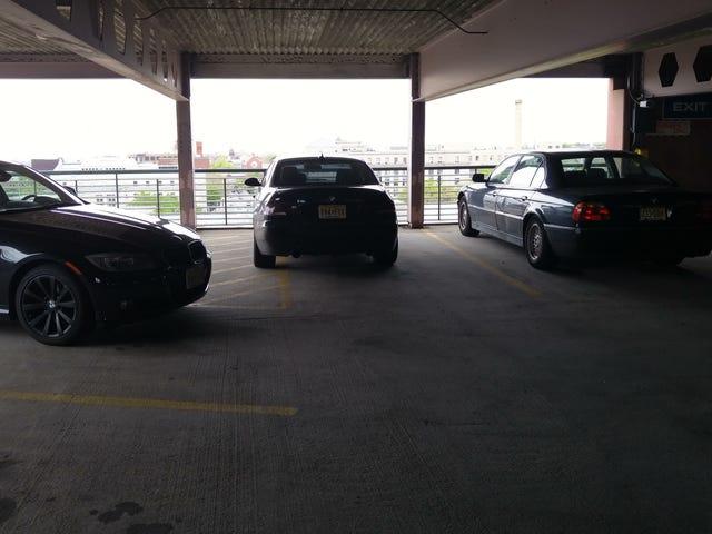 Ud af alle tre BMW'er ...