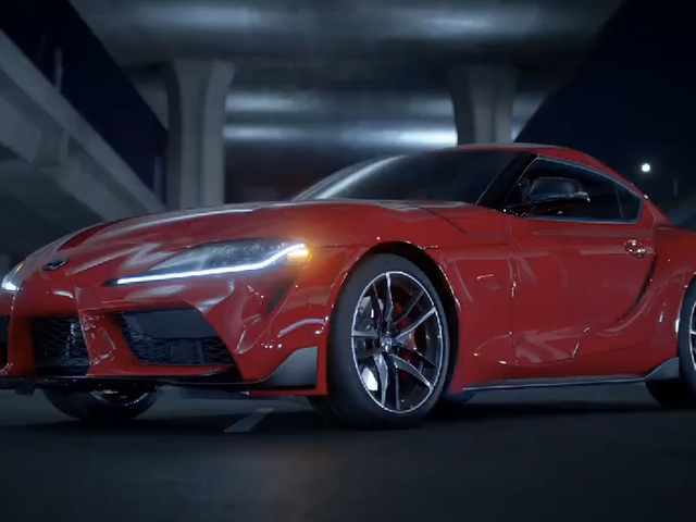 Toyota Supra 2020 đang ở đây và có vẻ rất vinh quang
