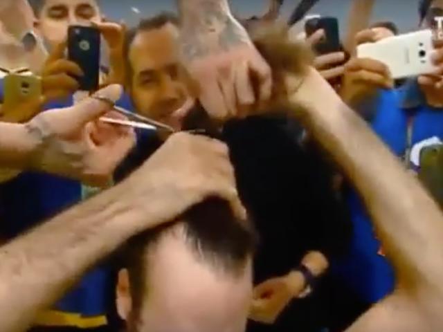 Team Celebrates Euroleague Title By Chopping Off Player's Man Bun