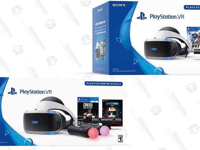 Verlieren Sie sich bei Sony PlayStation VR Black Friday Deals