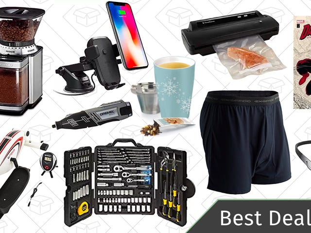 Tuesday's Best Deals: ExOfficio Underwear, Phone Dash Mounts, Bluetooth Headphones, and More