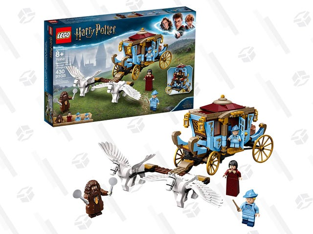 You Don't Need to Fly to Hogwarts To Get This LEGO Beauxbaton's Carriage Set For $10 Off