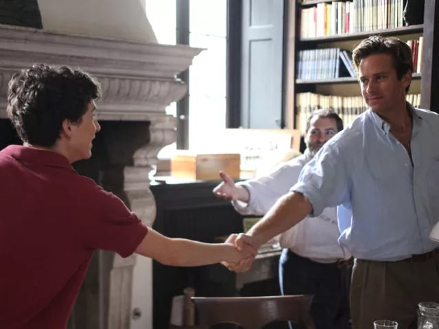 Call Me By Your Name soundtrack to be released on extra-fuckable peach-scented vinyl