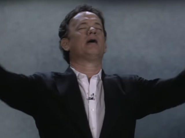 Fejre 10-årsdagen for Tom Hanks, der nægtede at tage hans Sony CES 2009-værtsopgaver alvorligt