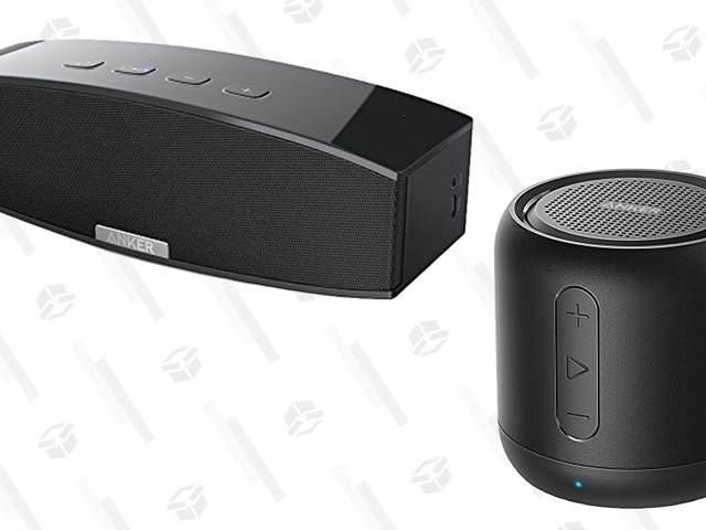 Take Your Pick of Two Discounted Anker Bluetooth Speakers, Today Only