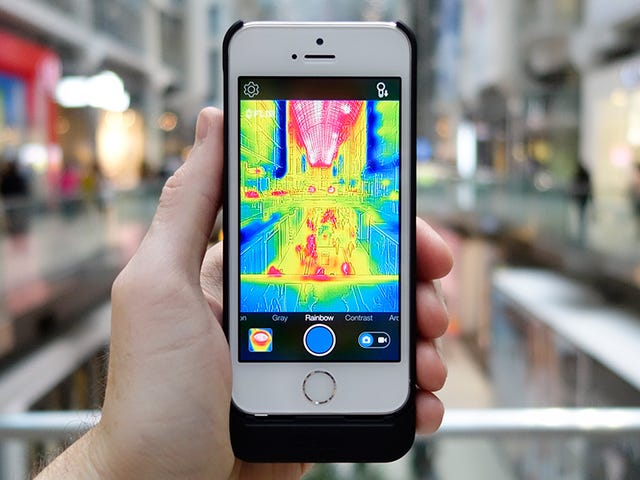 16 Ways To Use FLIR's Incredibly Fun Predator-Vision iPhone Camera
