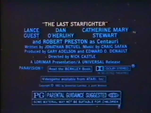 Le dernier starfighter (1984)