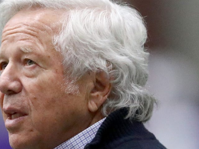 Robert Kraft Is Challenging The Florida Constitution To Keep You From Seeing Video Of His Hand Job