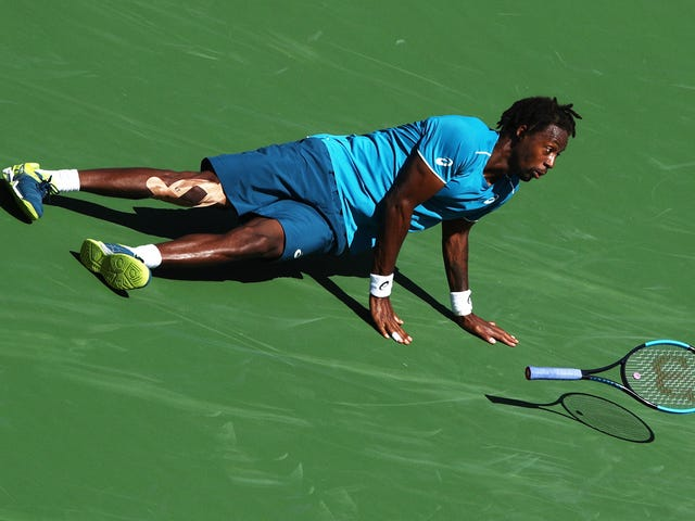 For Gael Monfils, The Play Is The Reason For The Work