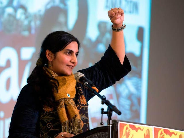Amazon Will Pay Taxes in Seattle If It's the Last Thing Kshama Sawant Does