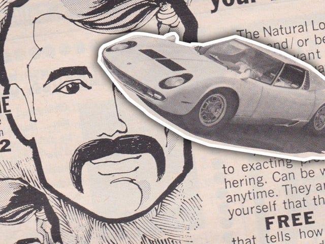 Est-ce le meilleur appariement d'annonces dans un magazine automobile jamais, ou quoi?