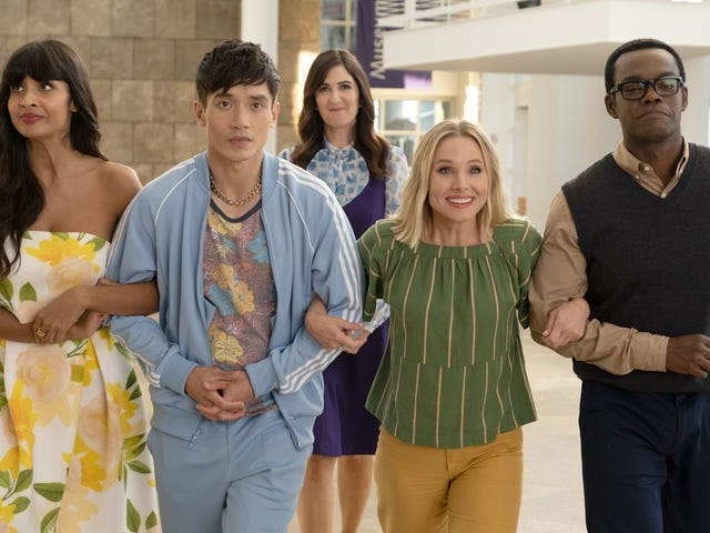 The Good Place walks, finally, right into the Good Place