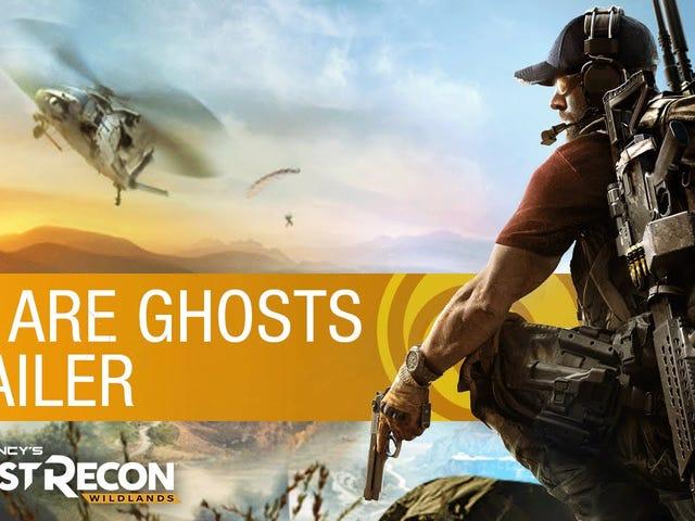 <i>Ghost Recon Wildlands</i> refait surface avec une nouvelle bande-annonce