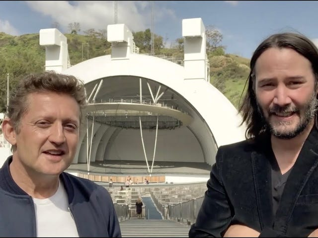 Whoa - Bill and Ted 3!