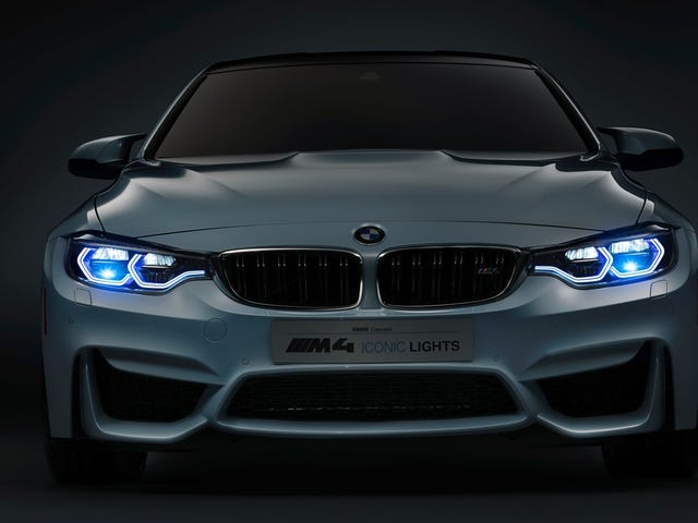 """<a href=""""https://oppositelock.kinja.com/first-look-bmw-m4-iconic-lights-concept-1678054088/1678108645"""" data-id="""""""" onClick=""""window.ga('send', 'event', 'Permalink page click', 'Permalink page click - post header', 'reframed');"""">BMW Unveils M4 Iconic Lights Concept At CES</a>"""