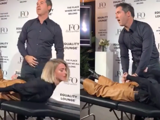 A Goop-Approved Practitioner Pulled Energy Out Of Julianne Hough's Butt At Davos