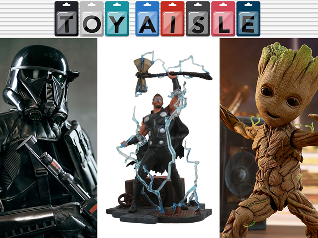 Life-Sized Star Wars and Guardians of the Galaxy Toys, and More of the Biggest Toys of the Week