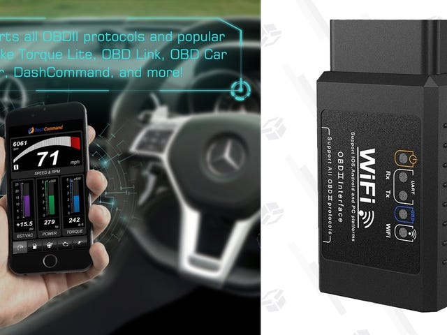 Speak Your Car's Language With This $10 Wi-Fi OBD2 Dongle