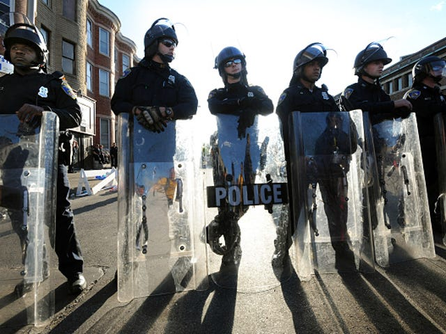As Dirty as They Wanna Be: 7 Baltimore Cops Indicted for Acting Like 'Gangsters'