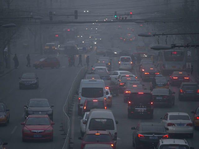 Plus de 90% du monde respire de l'air
