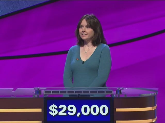 Letting Larissa Kelly Fall To The Sixth Pick In Jeopardy! All-Stars Is One Of The All-Time Draft Blunders
