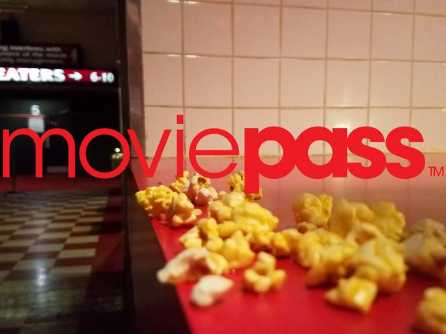 MoviePass Subscriptions Are Back Down to $6.95 If You Act Fast