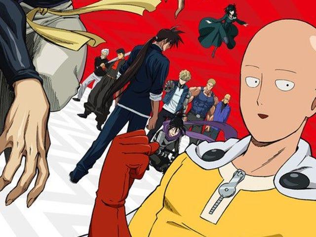 Den andra säsongen av One-Punch-mannen kommer premiär den 9 april