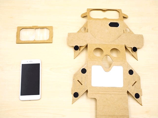使用Cardboard Holokit制作自己的Bootleg HoloLens